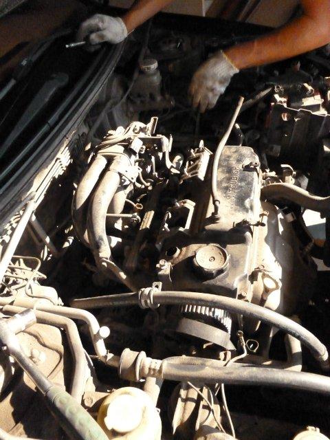 Разбор двигателя Lancer 9