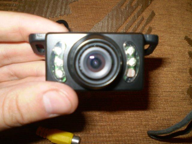 Камера заднего вида на Лансер 9