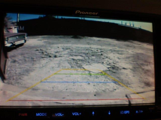Вид с камеры заднего вида Лансер 9