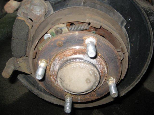 Задние диски тормозные Лансер 9